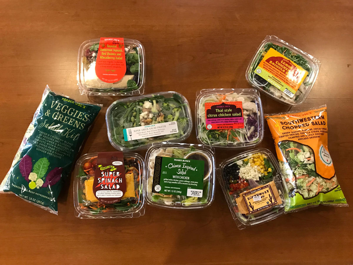 Trader Joe's Salad Kits