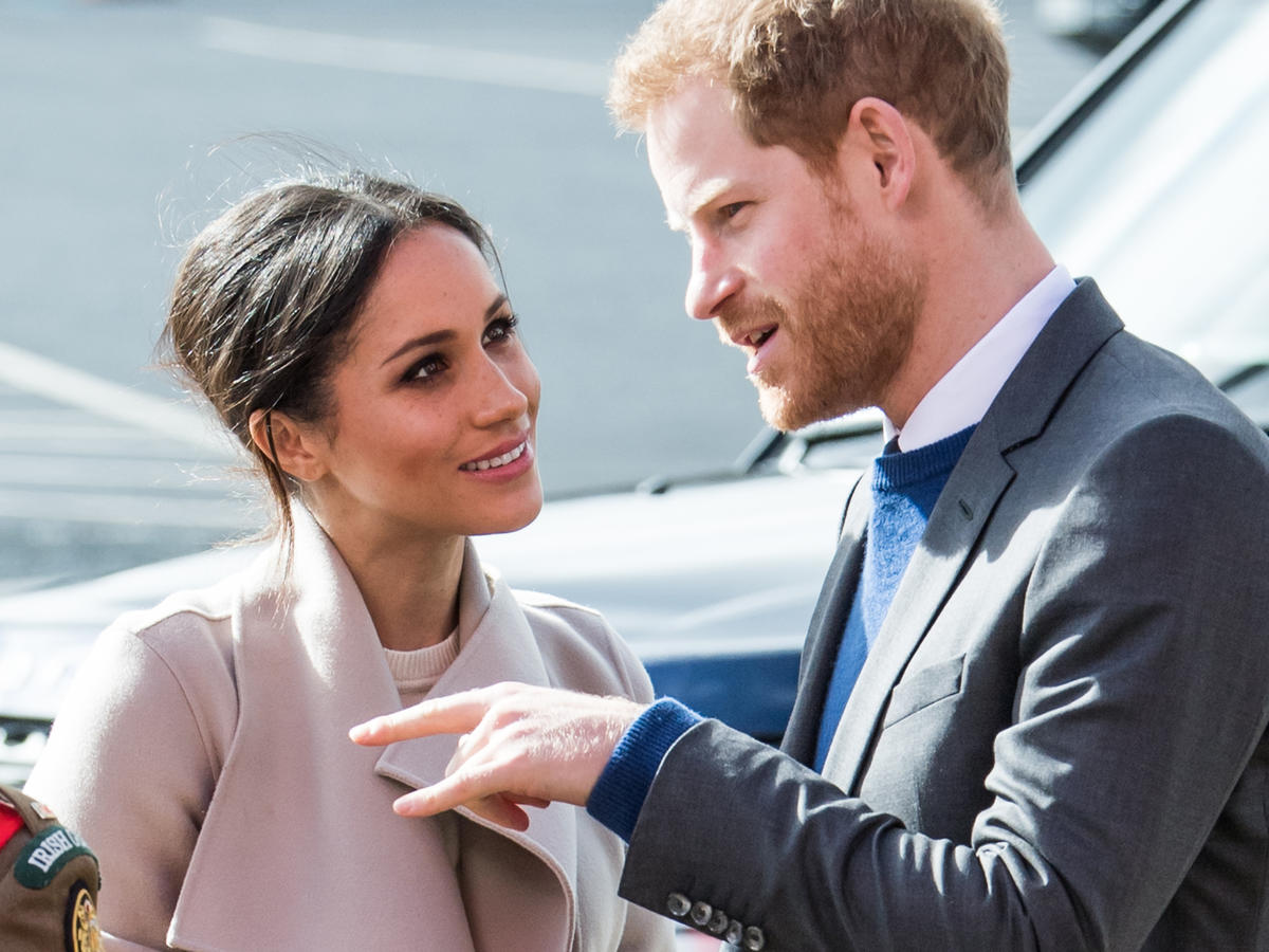 1803w Prince Harry and Meghan Markle