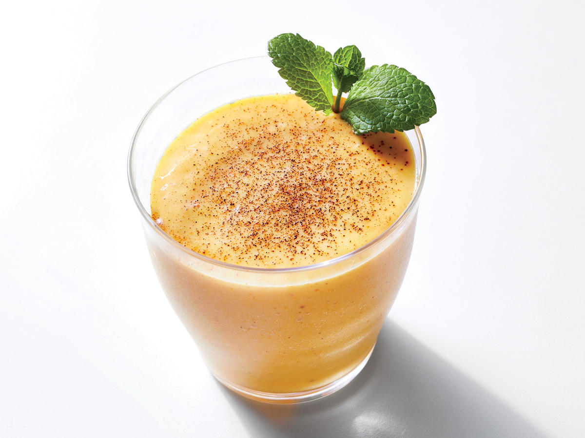 Treat Yourself: Mango-Rum Kefir Lassi