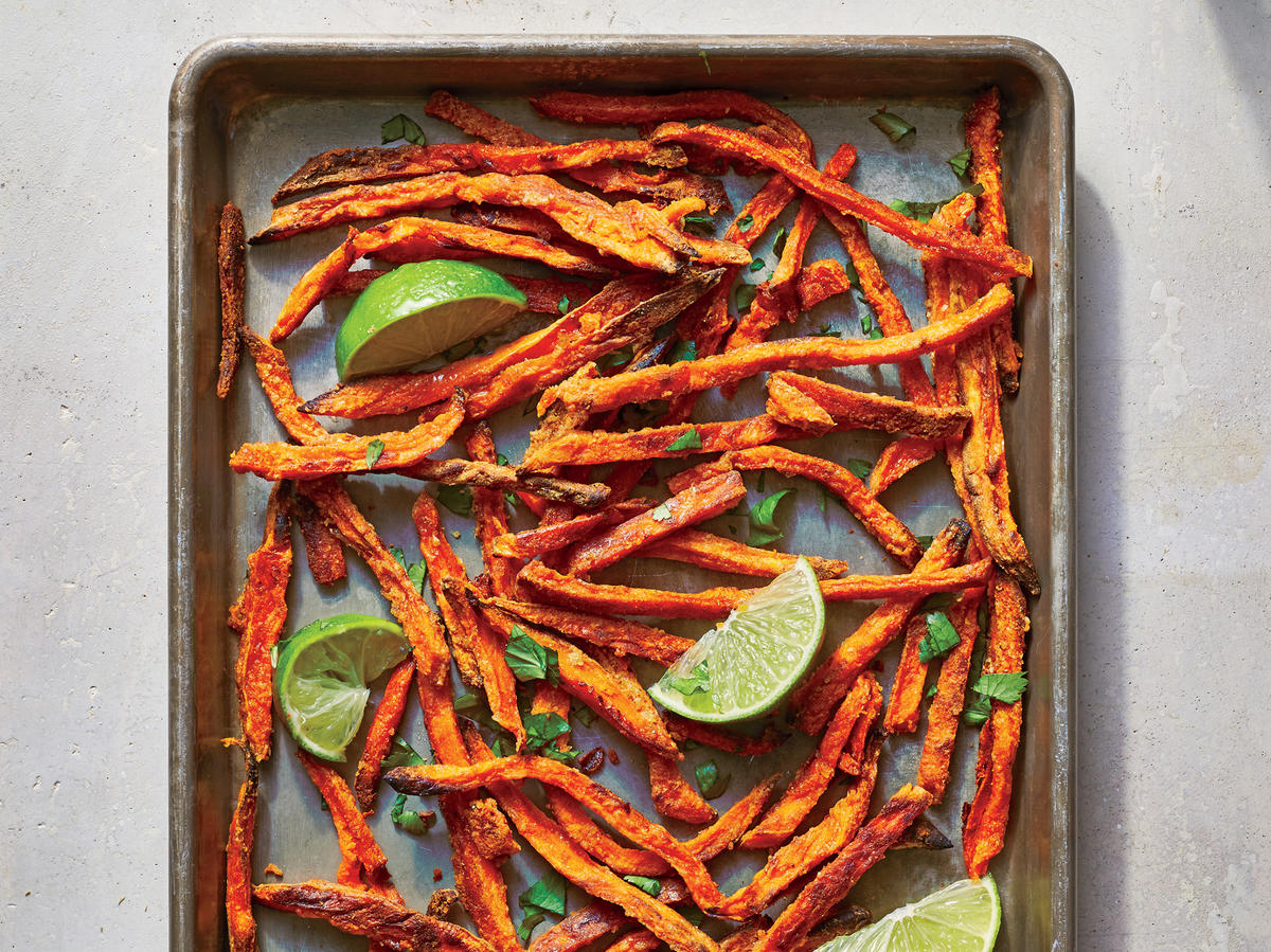 Spiced Sweet Potato Fries