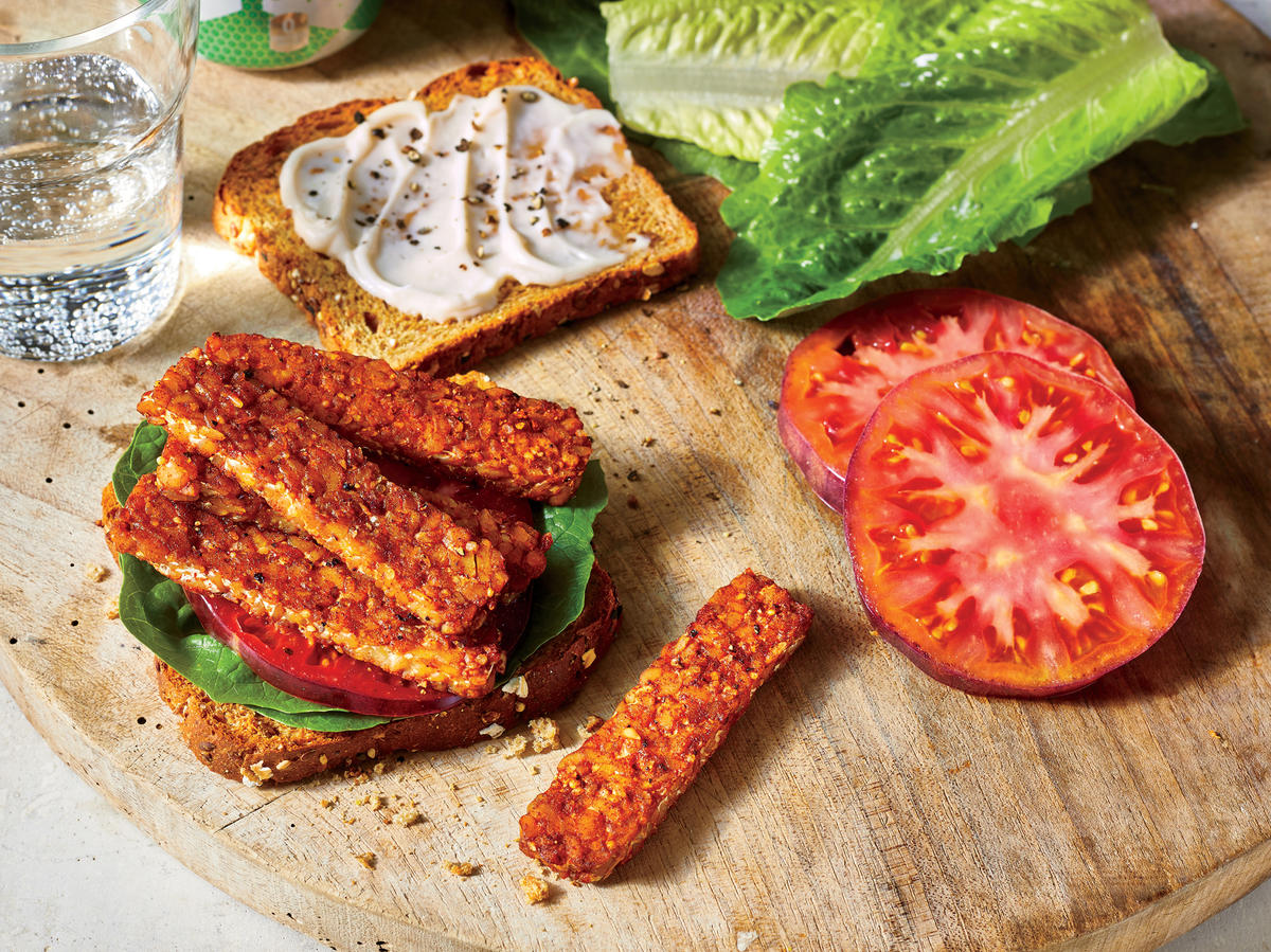 July: Smoked Tempeh Blt