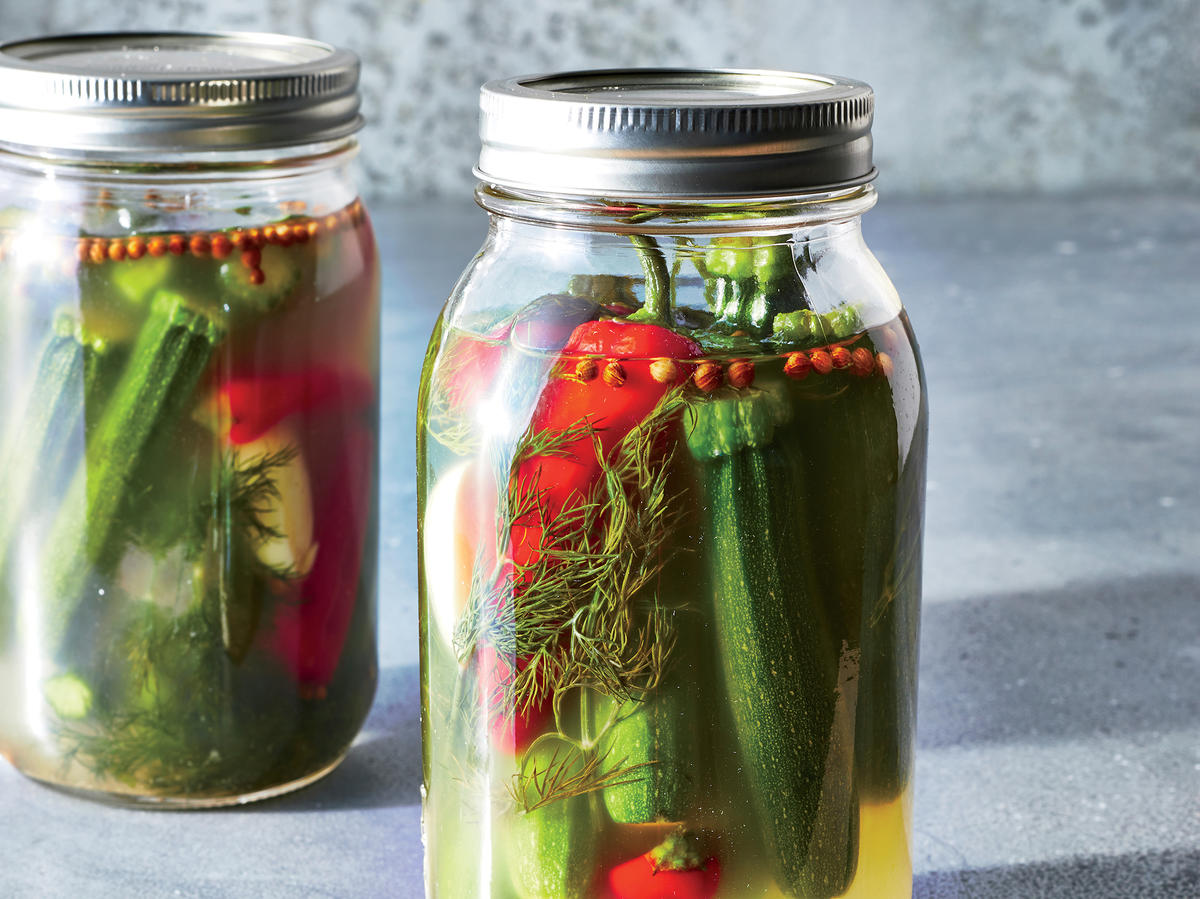 3 Steps to Delicious Baby Zucchini Pickles