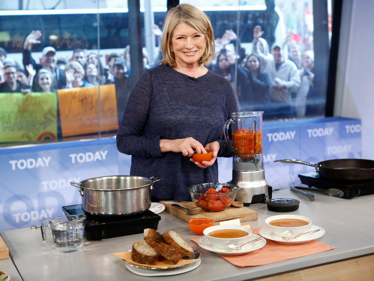 Martha Stewart's Diet Secrets for Looking Young and Healthy