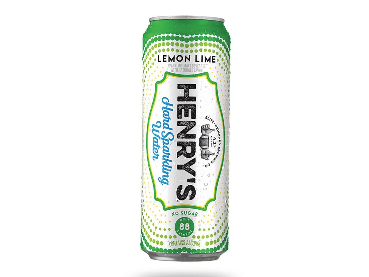 Henry's Hard Sparkling Water Lemon Lime