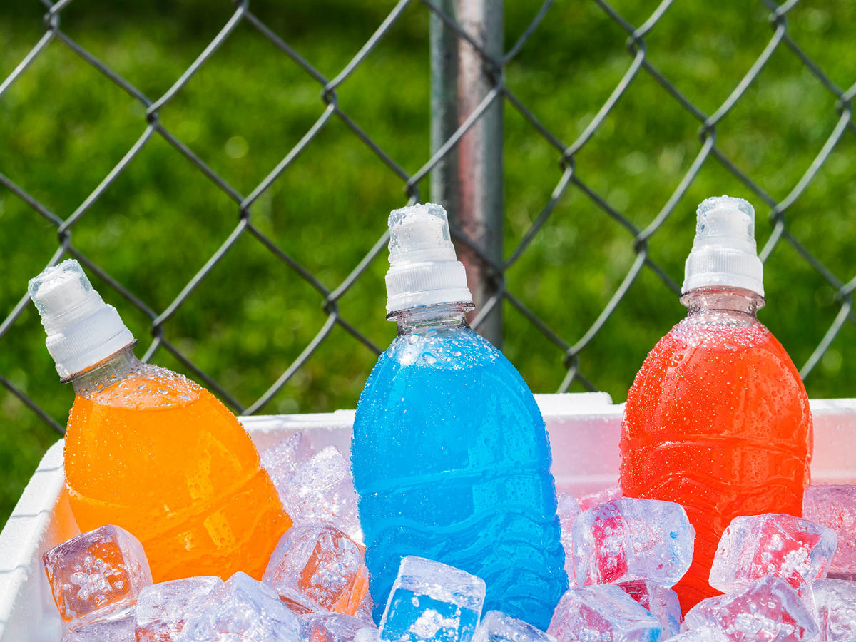 Guess What? Kids Don't Need Sports Drinks After Practice