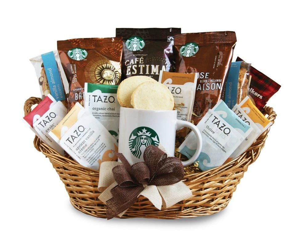 1805w Starbucks gift basket