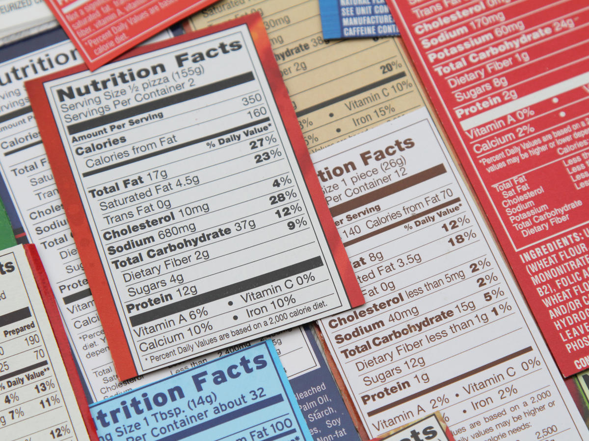 Trans Fats on Food Labels