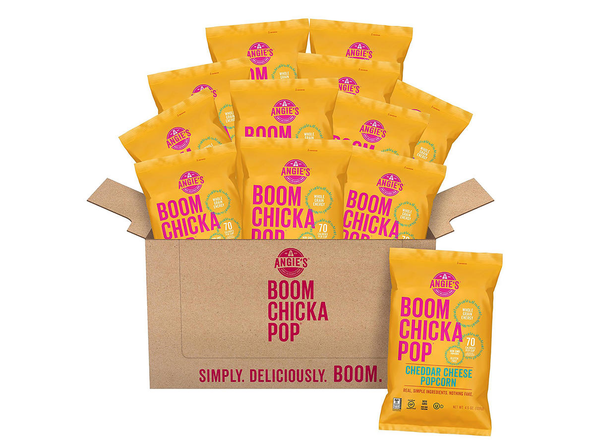 Boom Chicka Pop's Cheddar Cheese Popcorn Snack Packs
