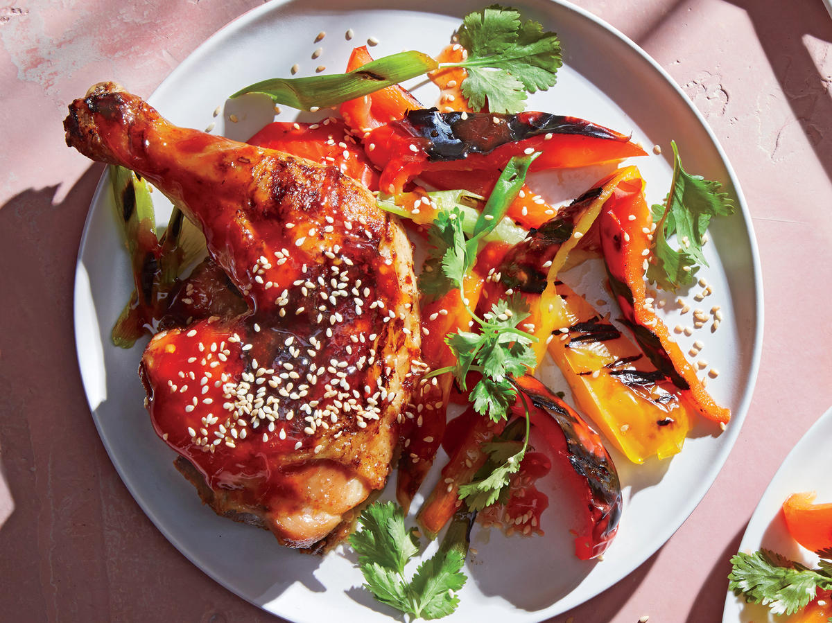 How to Make General Tso's Chicken on the Grill