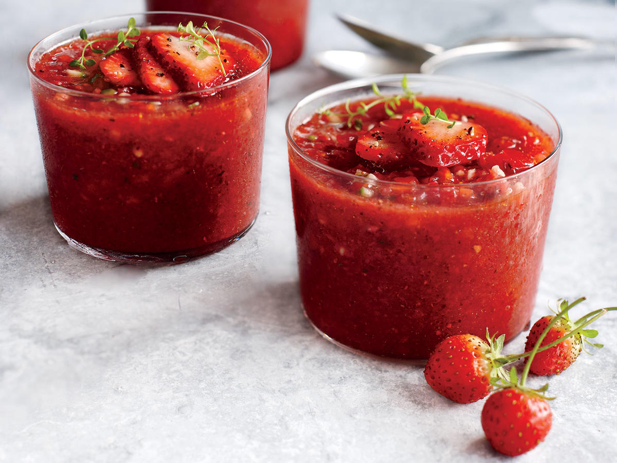 1805w Strawberry Gazpacho