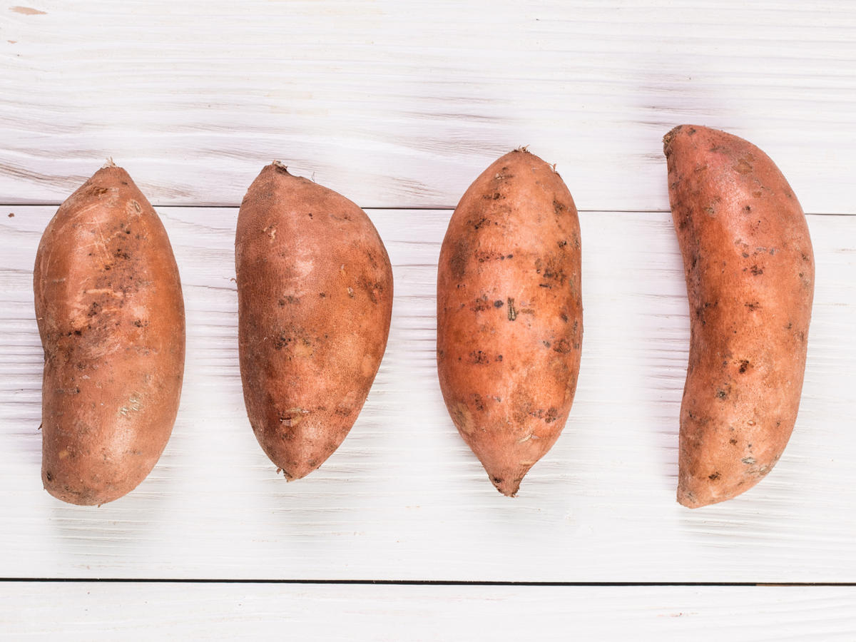 How to Buy Sweet Potatoes