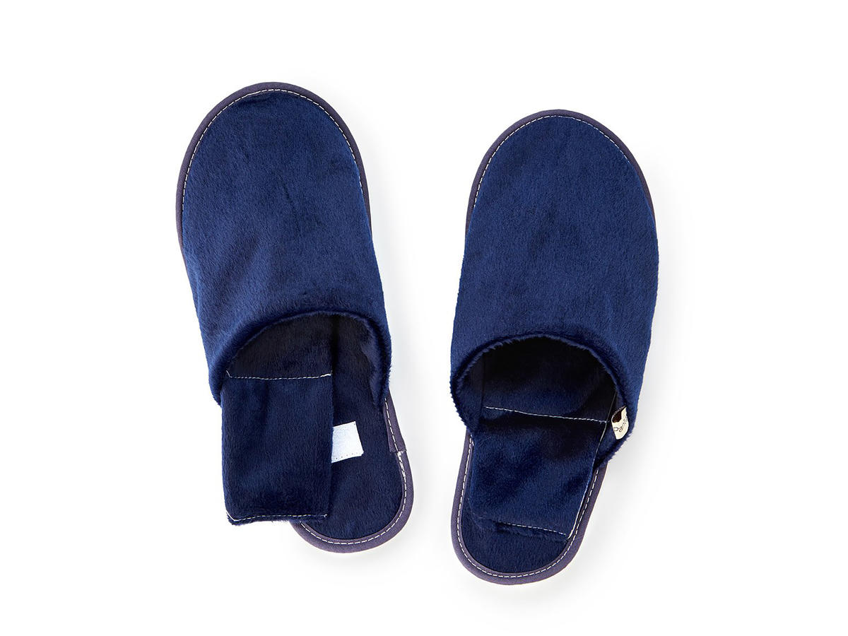 Microwavable Flax-Seed Filled Herbal Slippers