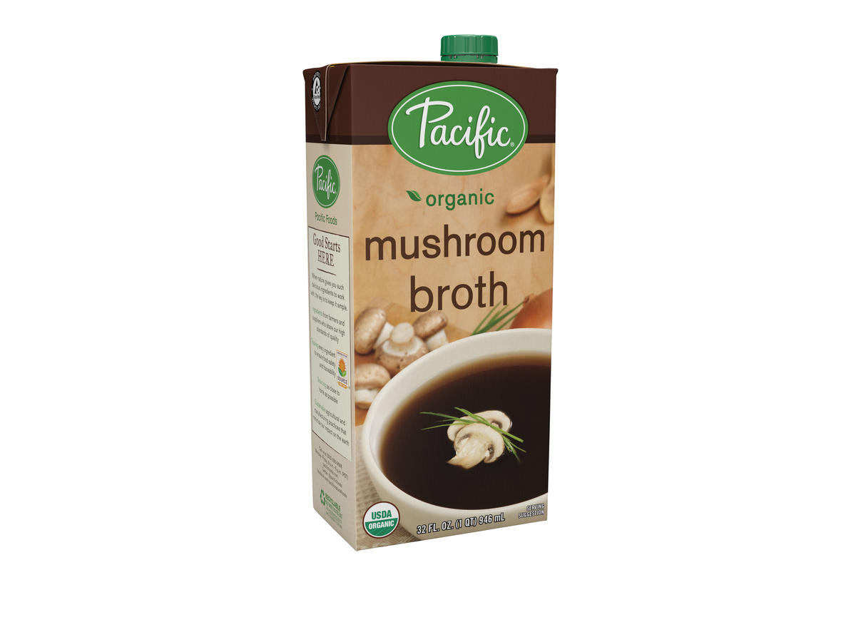 This Mushroom Stock Tastes Fancy AF—And You'll Never Guess Where You Can Buy It