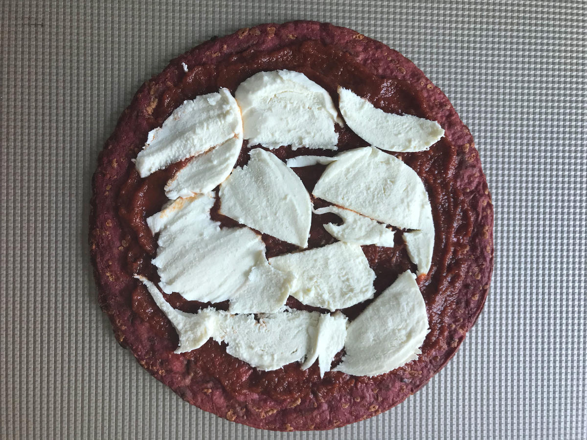 1806w red beet pizza not cooked