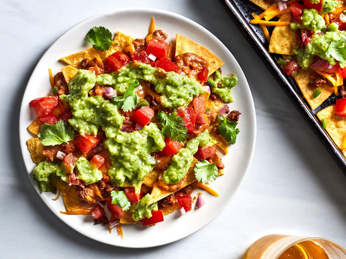 Chili-Chorizo Nachoes