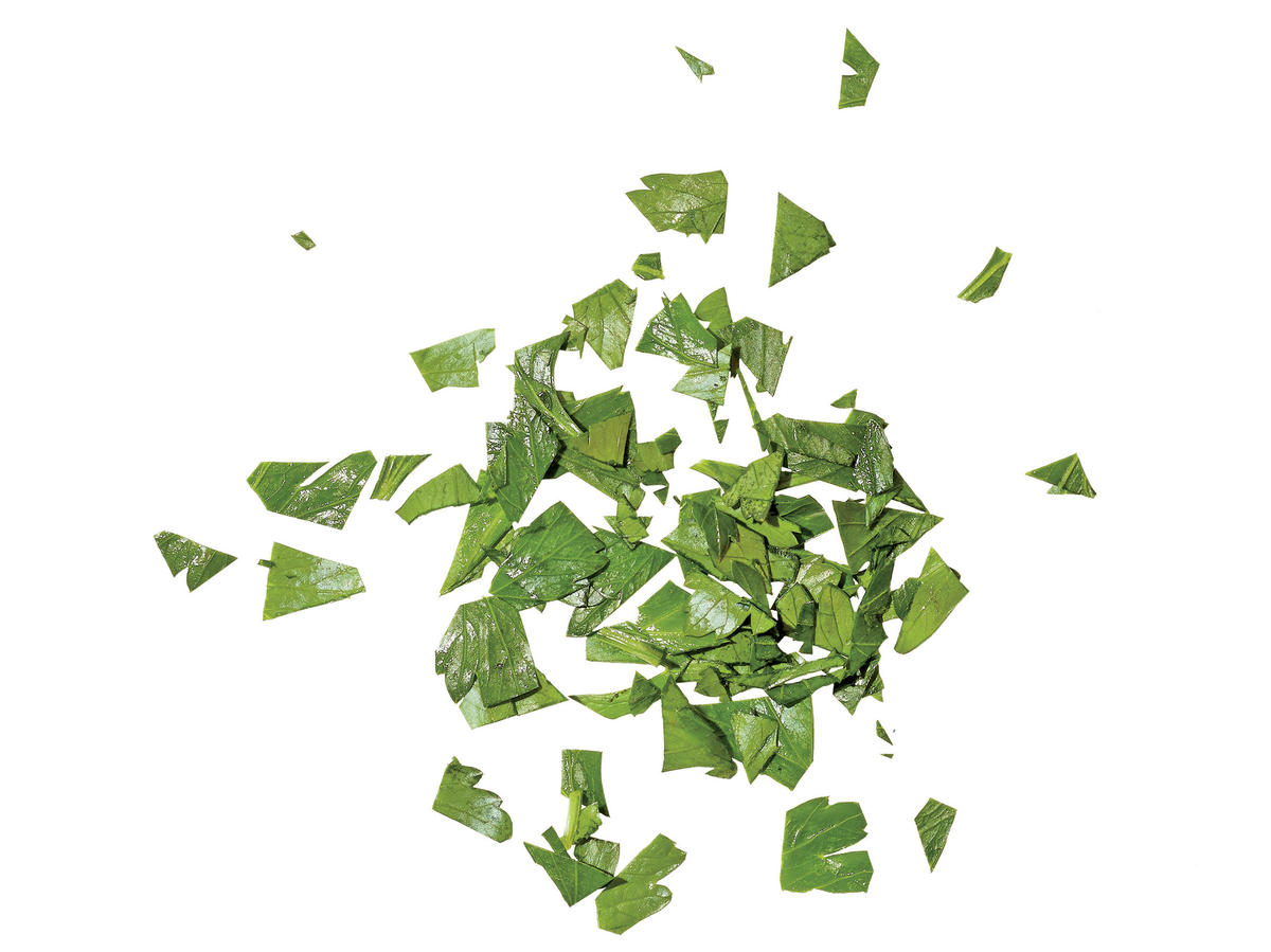 Coarsely Chopped Herbs