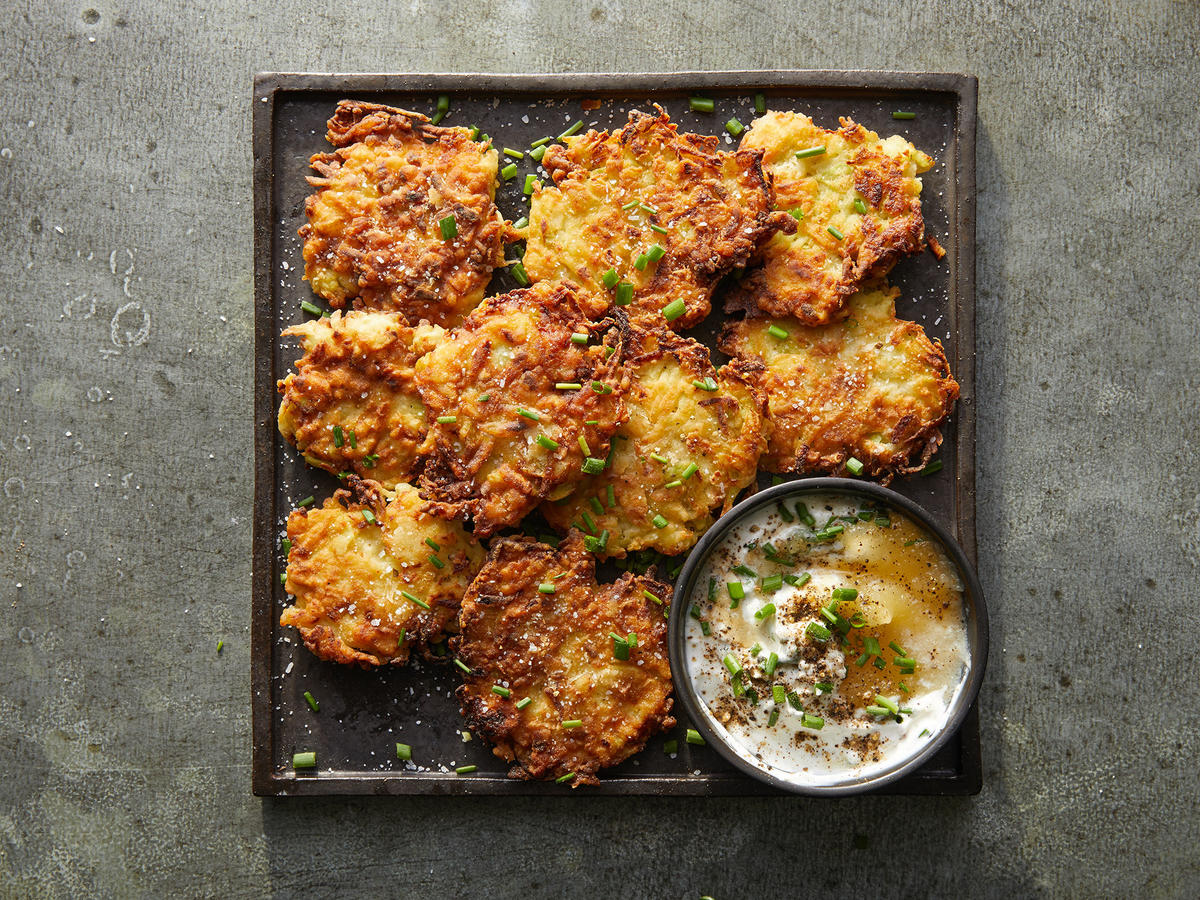 Got Kohlrabi? Make Fritters!