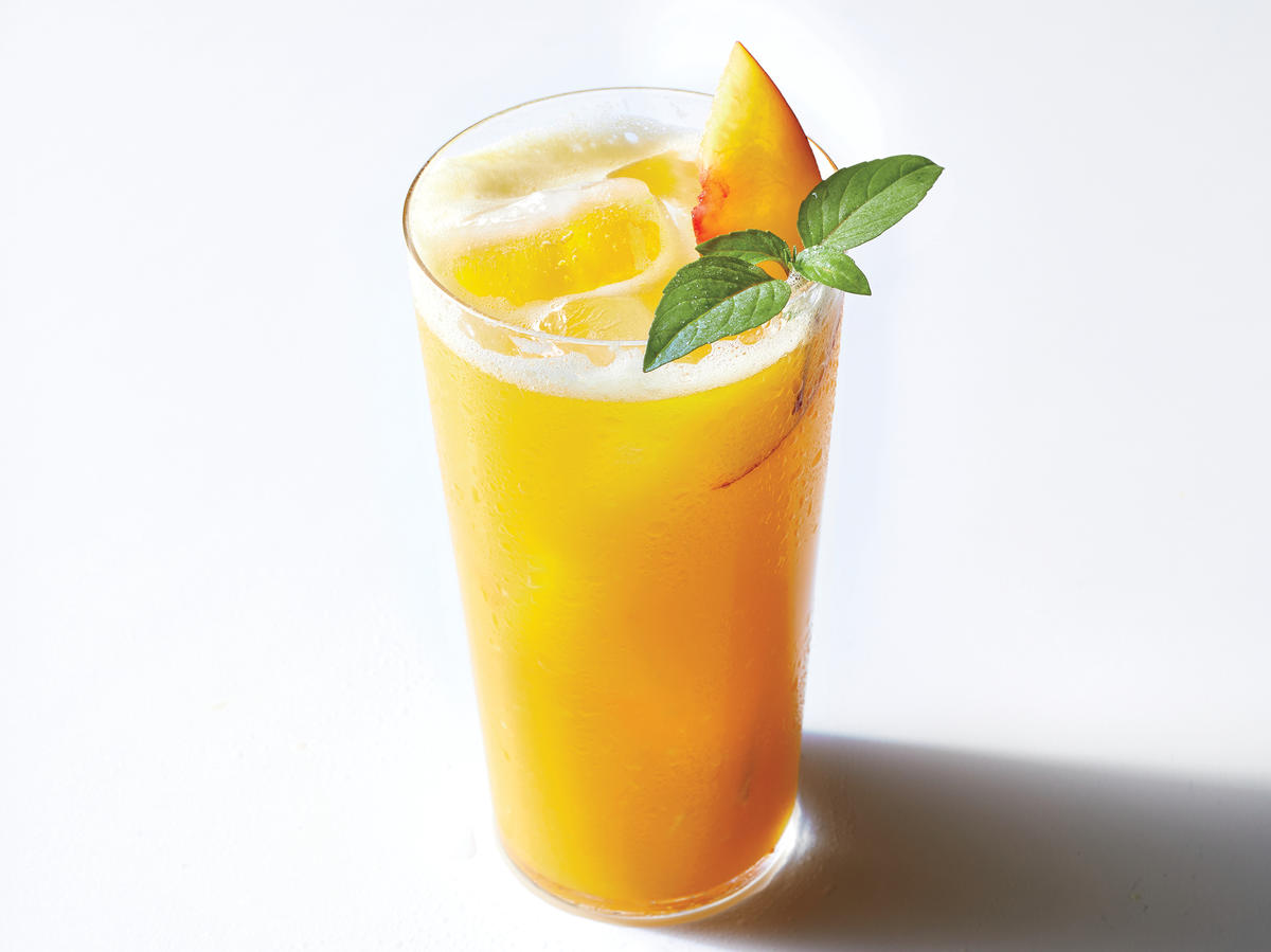 Thai Peach Punch Is About to Be Your New Favorite Big-Batch Cocktail