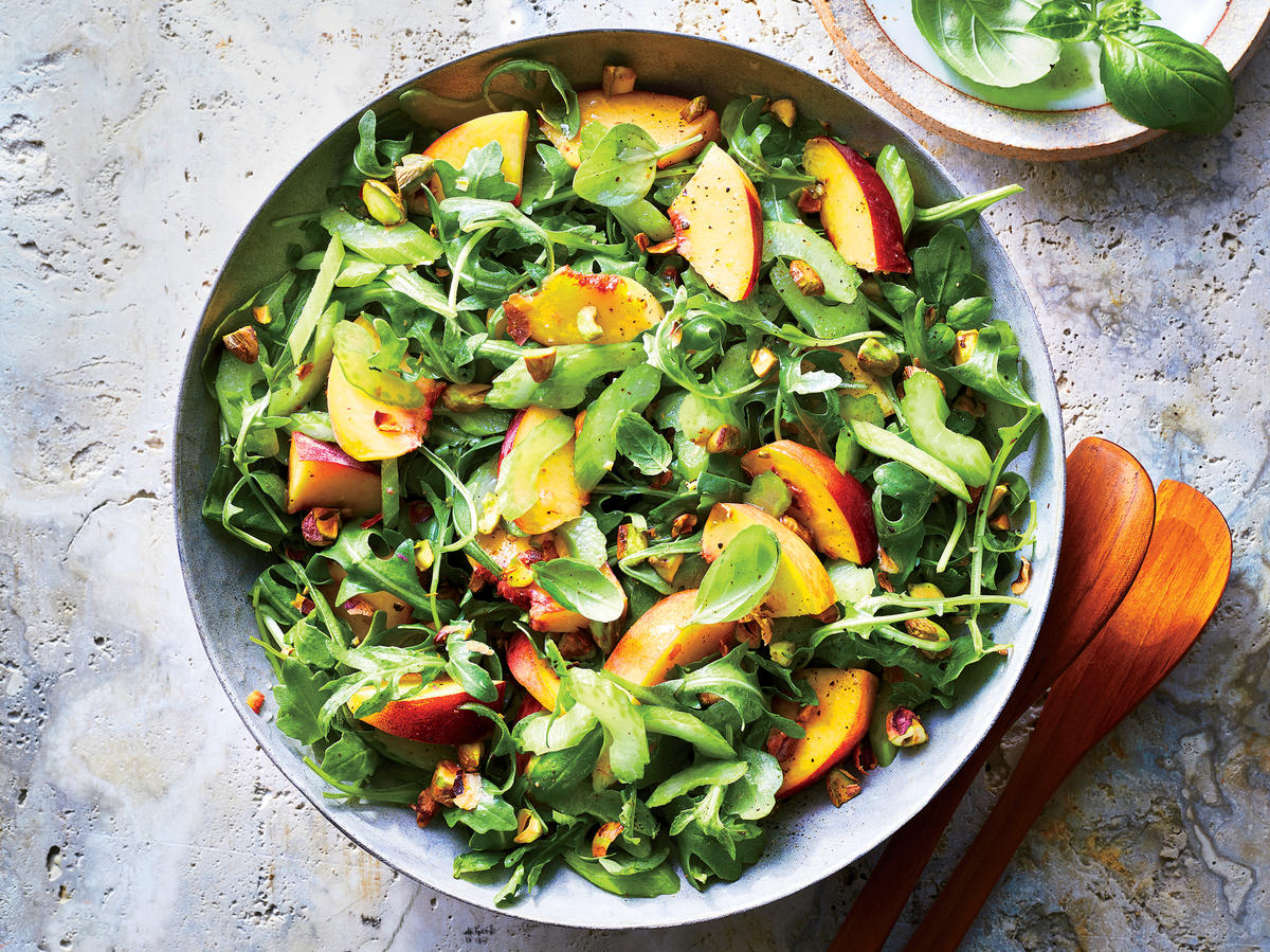 Peach and Celery Salad
