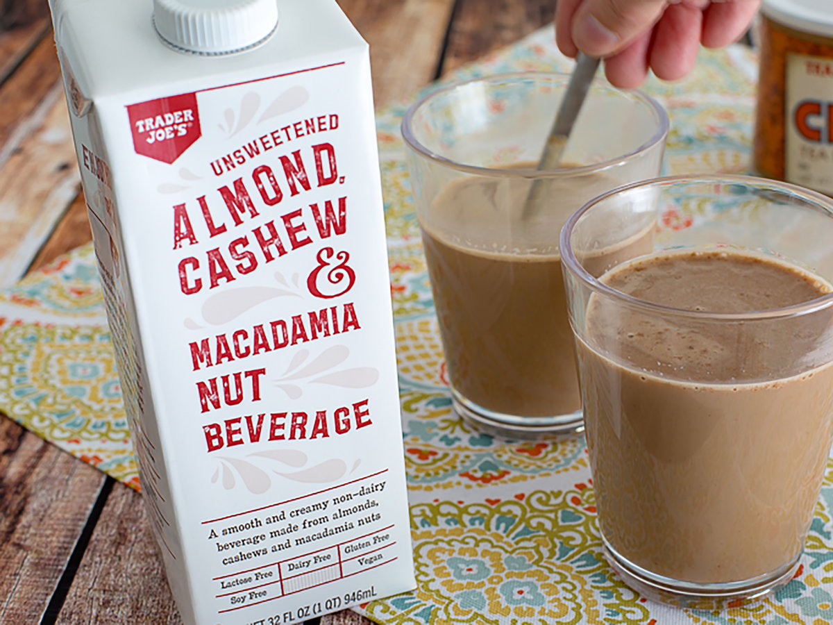 Trader Joe's Latest Nut Milk Might Be Its Best