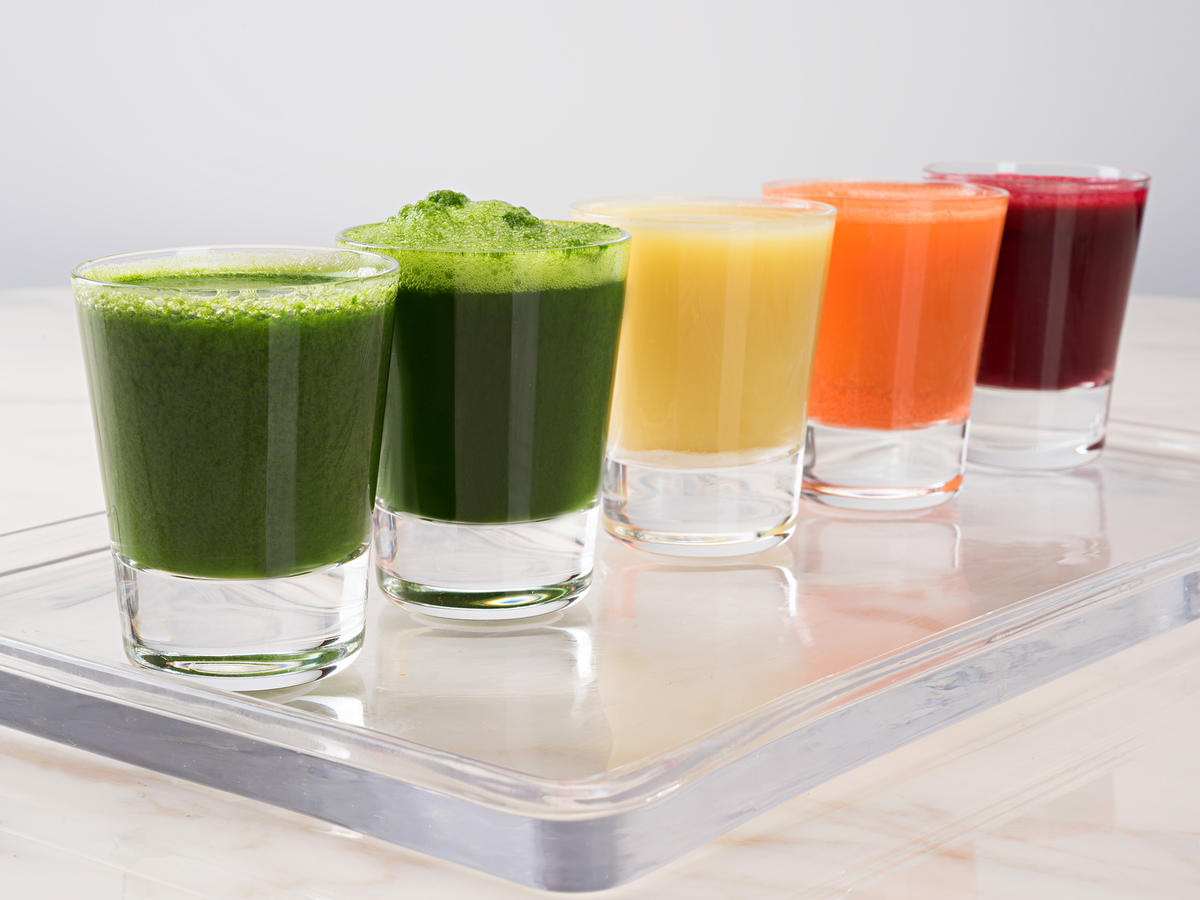 Superfood juice shots