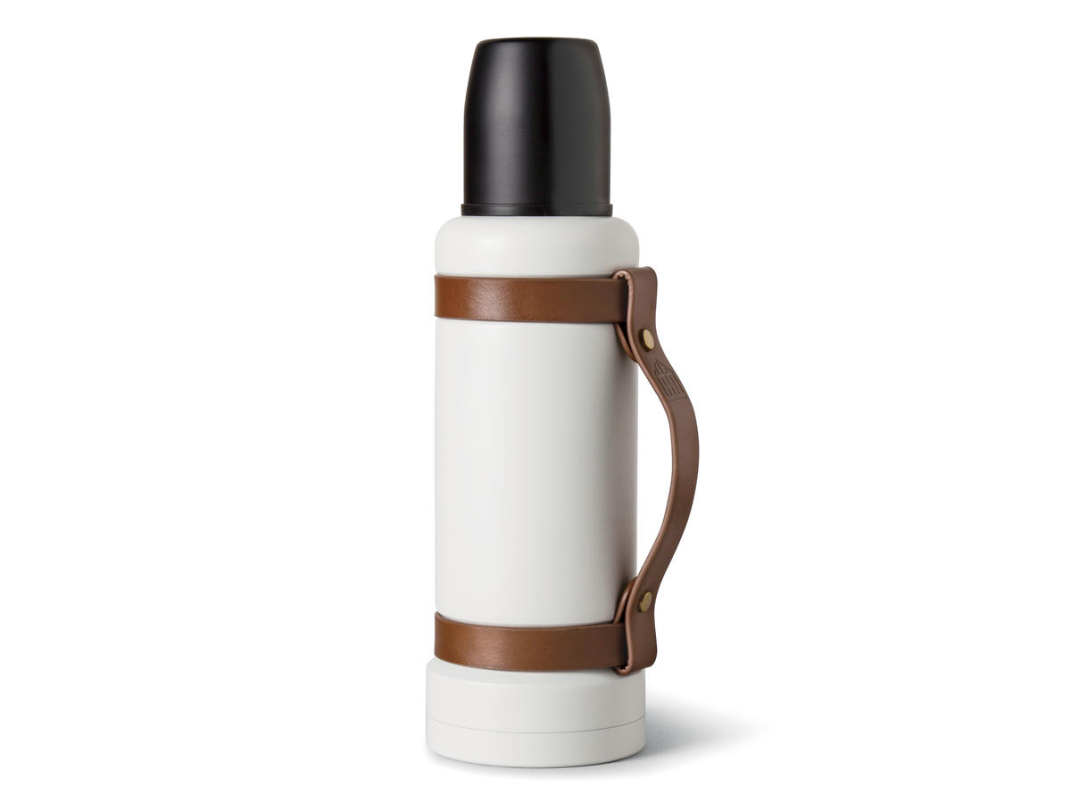 Hearth & Hand Portable Beverage Mug with Leather Strap