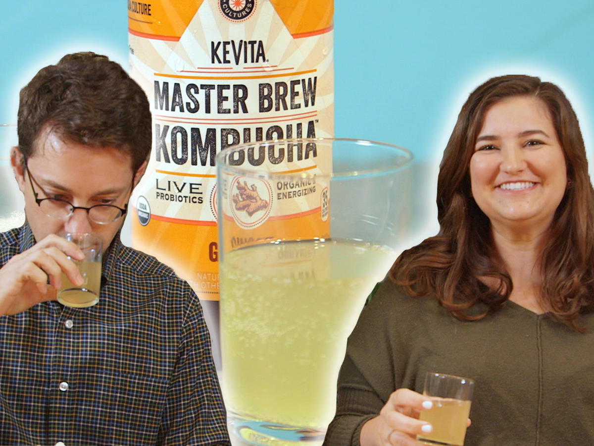 Taste Test: We Tried 5 Different Kombuchas, and Found 3 We Liked