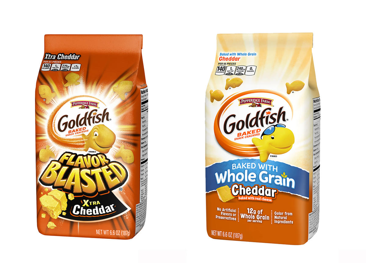 Pepperidge Farm Recalls 4 Different Kinds of Goldfish Crackers Due to Salmonella Risk