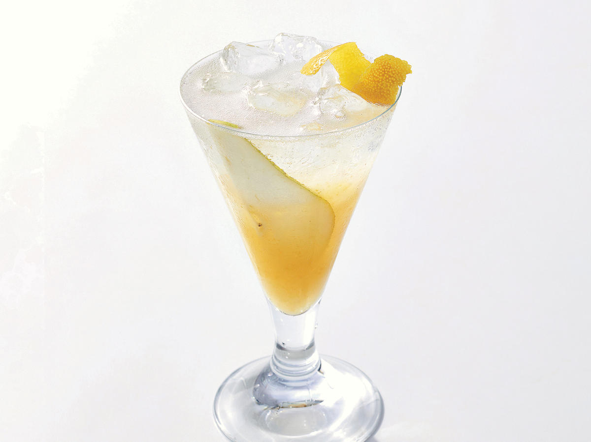 Treat Yourself: Pear-Prosecco Shrub