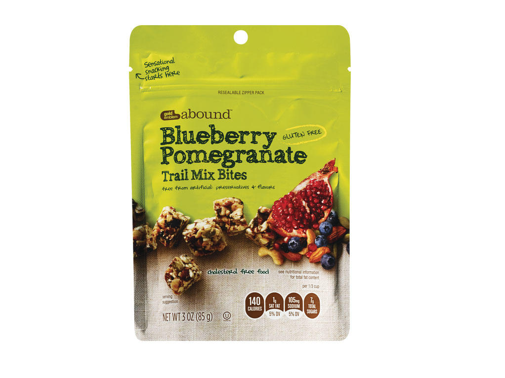 Gold Emblem Abound Blueberry Pomegranate Trail Mix Bites