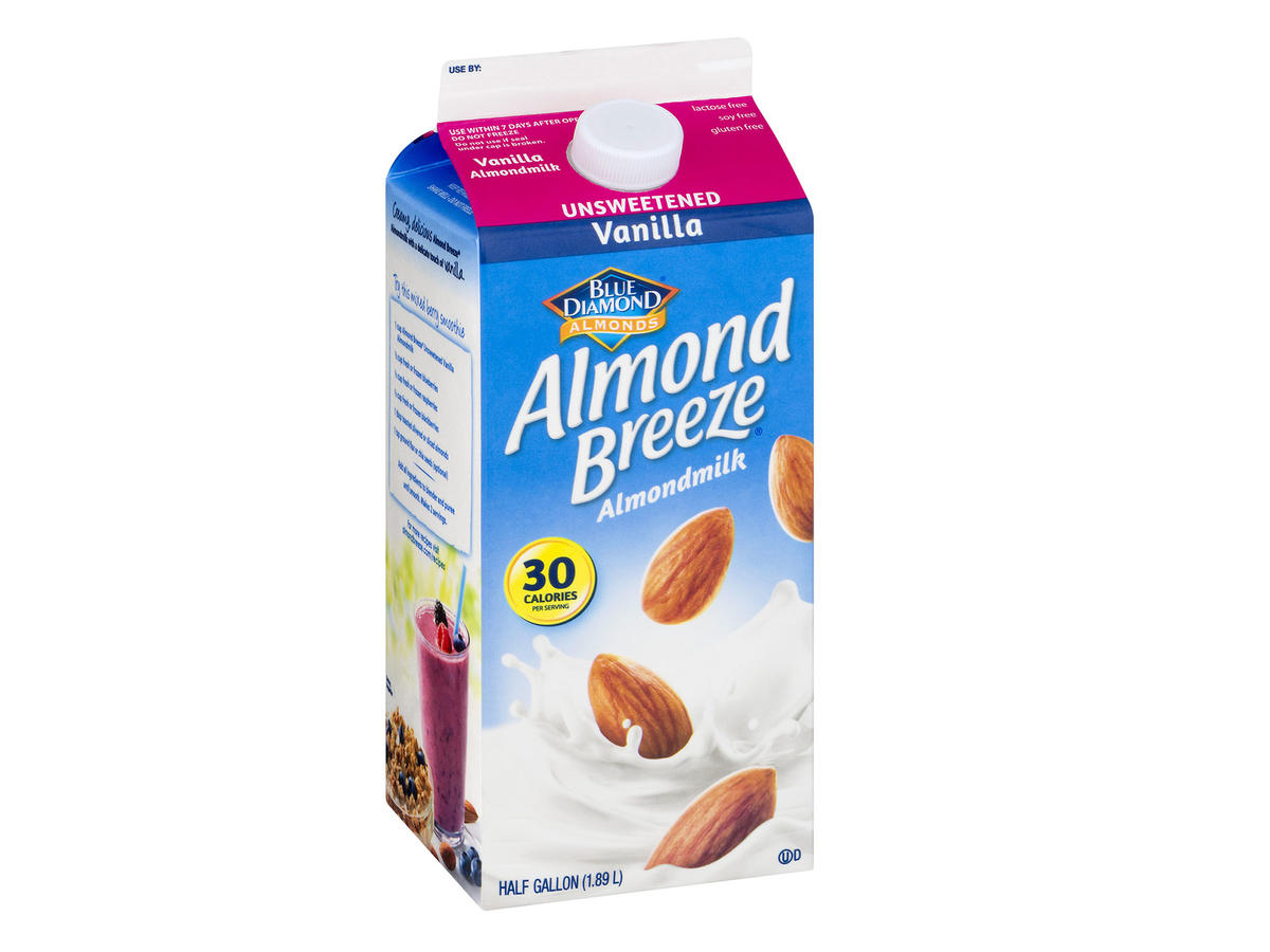Blue Diamond Vanilla Almond Breeze nut milk