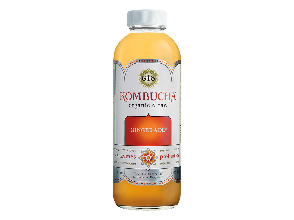 GT's Living Foods Gingerade Kombucha