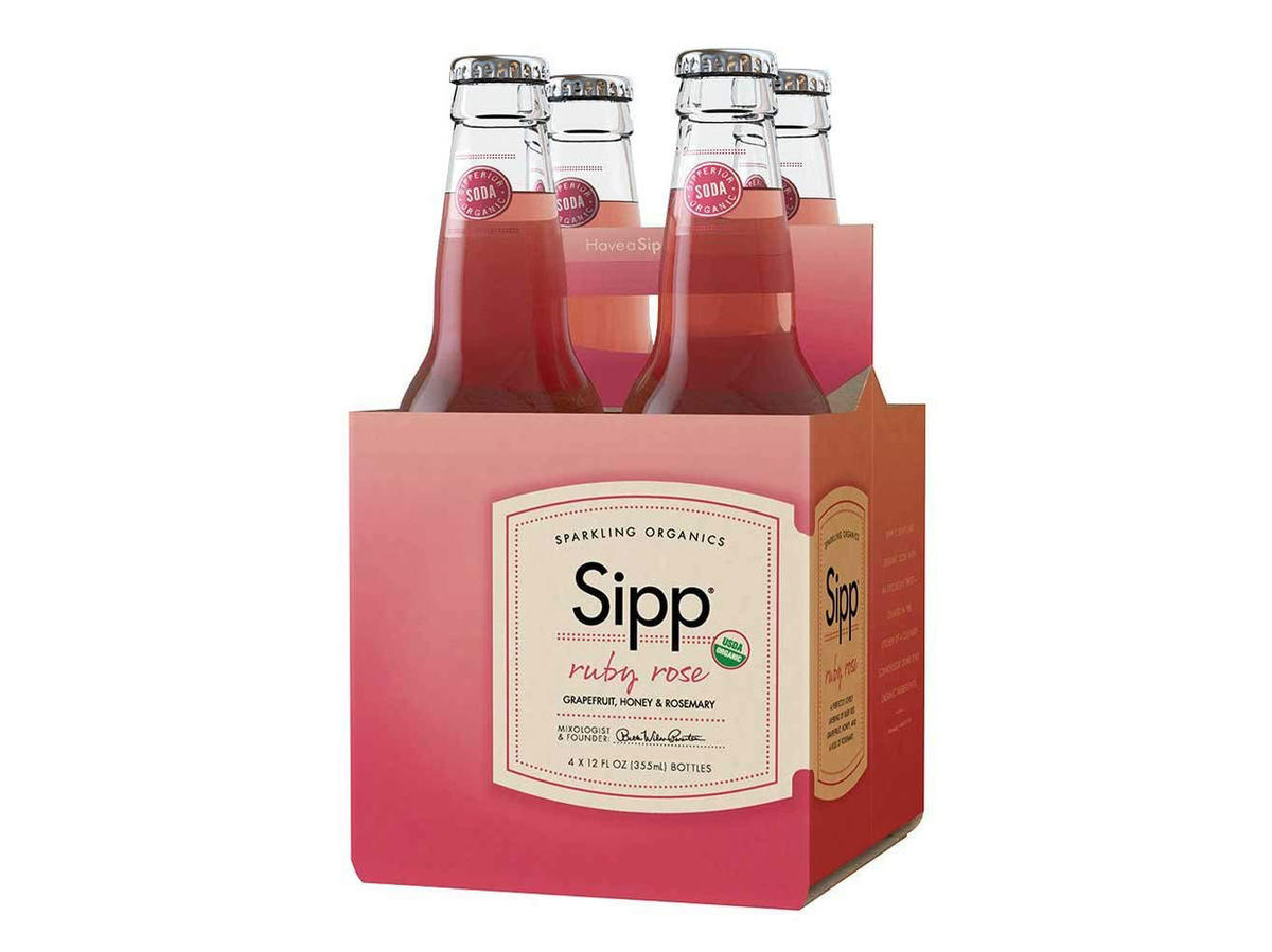 Sipp Sparkling Organics Ruby Rose