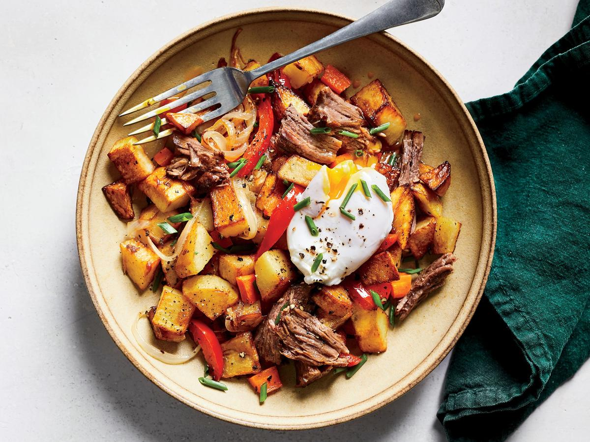 Tuesday: Roast Beef Hash