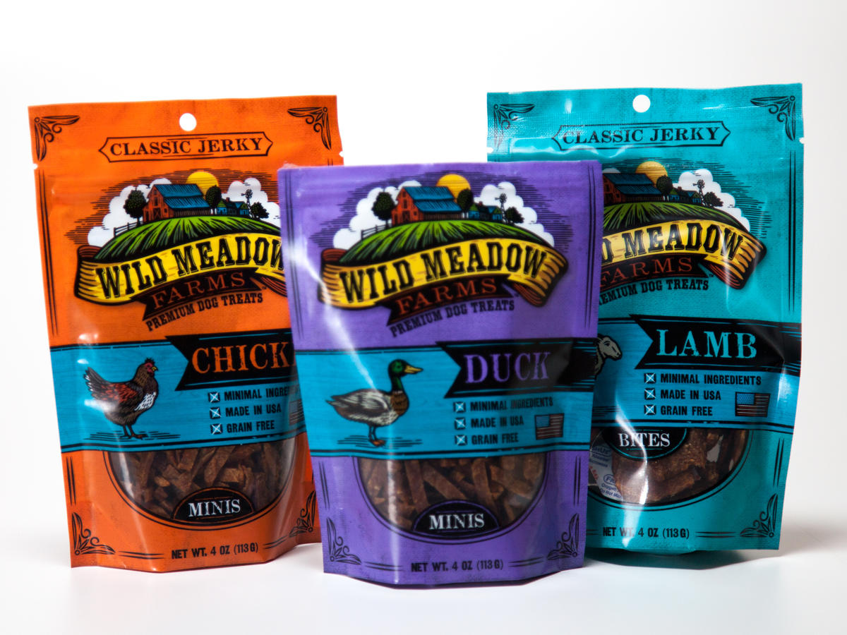 wild meadow farm dog treats