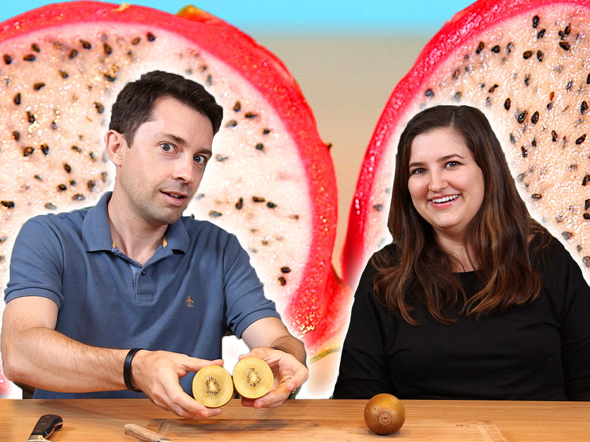 Taste Test: Chris and Jaime Try Exotic Fruit
