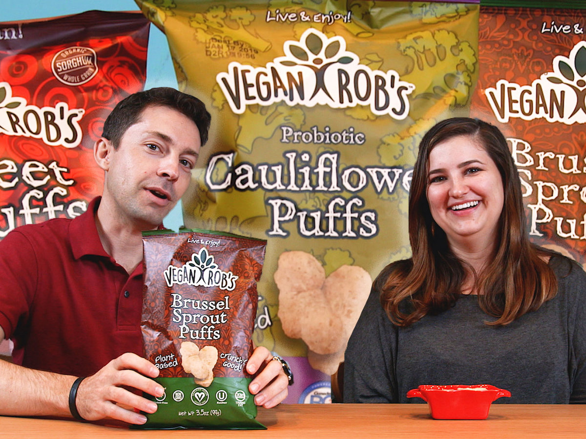 Taste Test: We Tried 3 Kinds of Vegan Veggie Puffs—Here's What We Thought