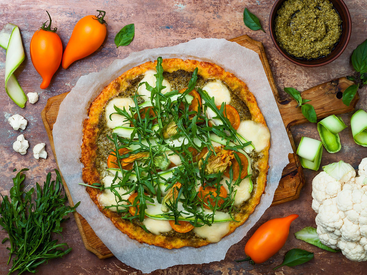 This Is Our Nutritionist's Favorite Frozen Cauliflower Pizza Crust