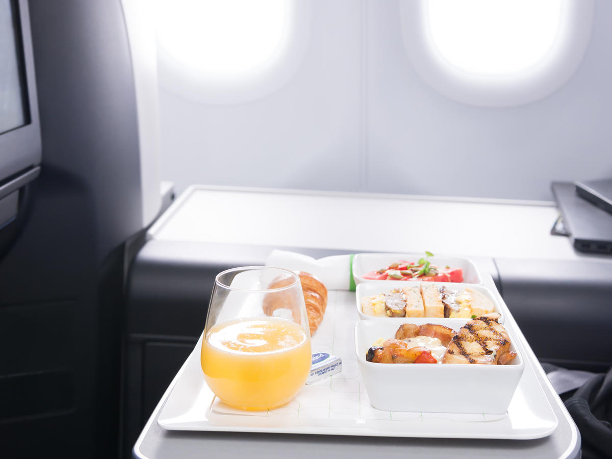 1808w JetBlue Mint Meal