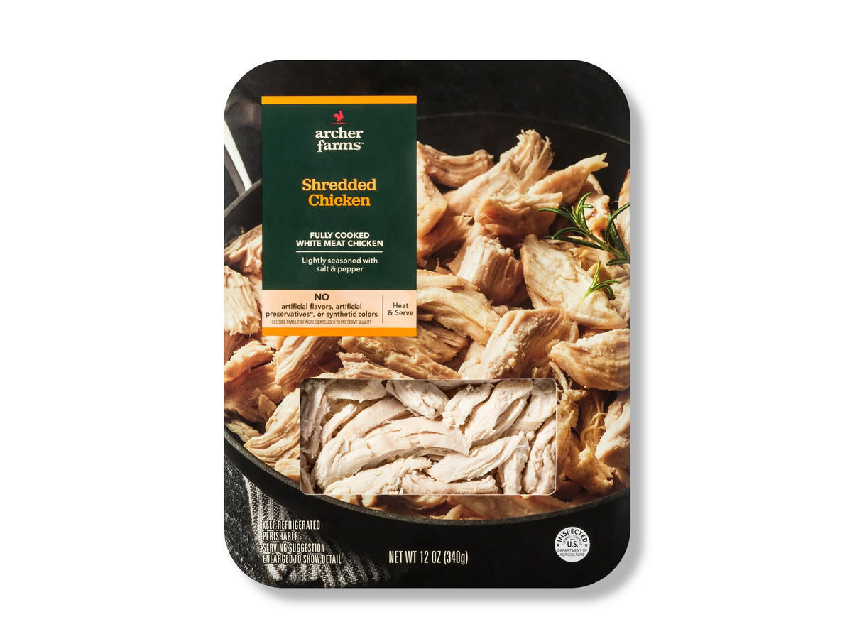 1808w Shredded Chicken