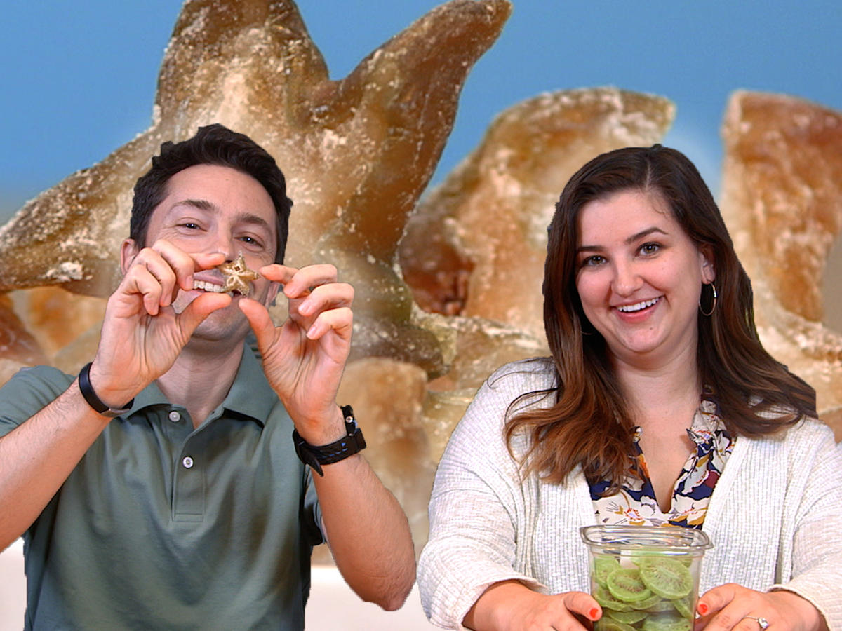 Taste Test: Chris and Jaime Try Different Dried Fruits