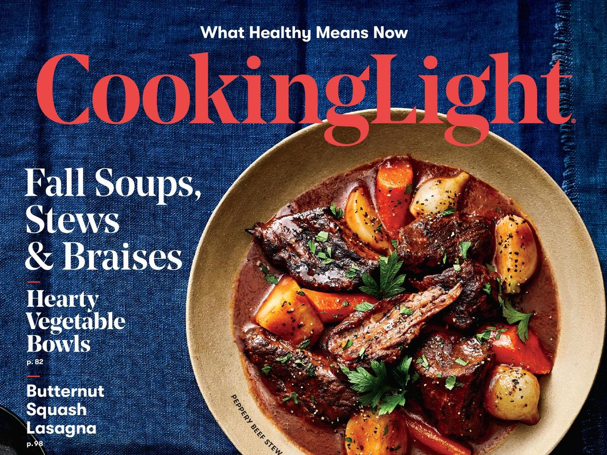 Cooking Light October 2018 Cover