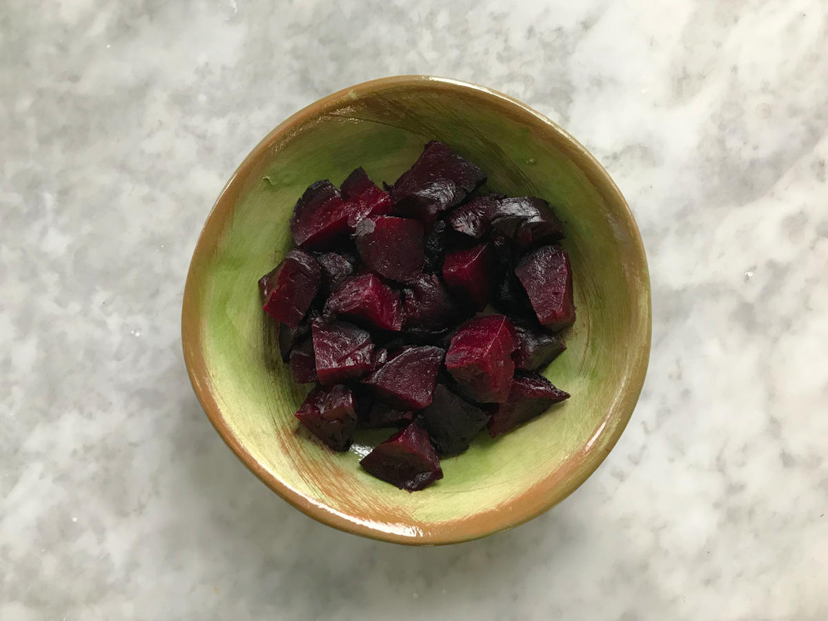 Cooked and Cut Beets