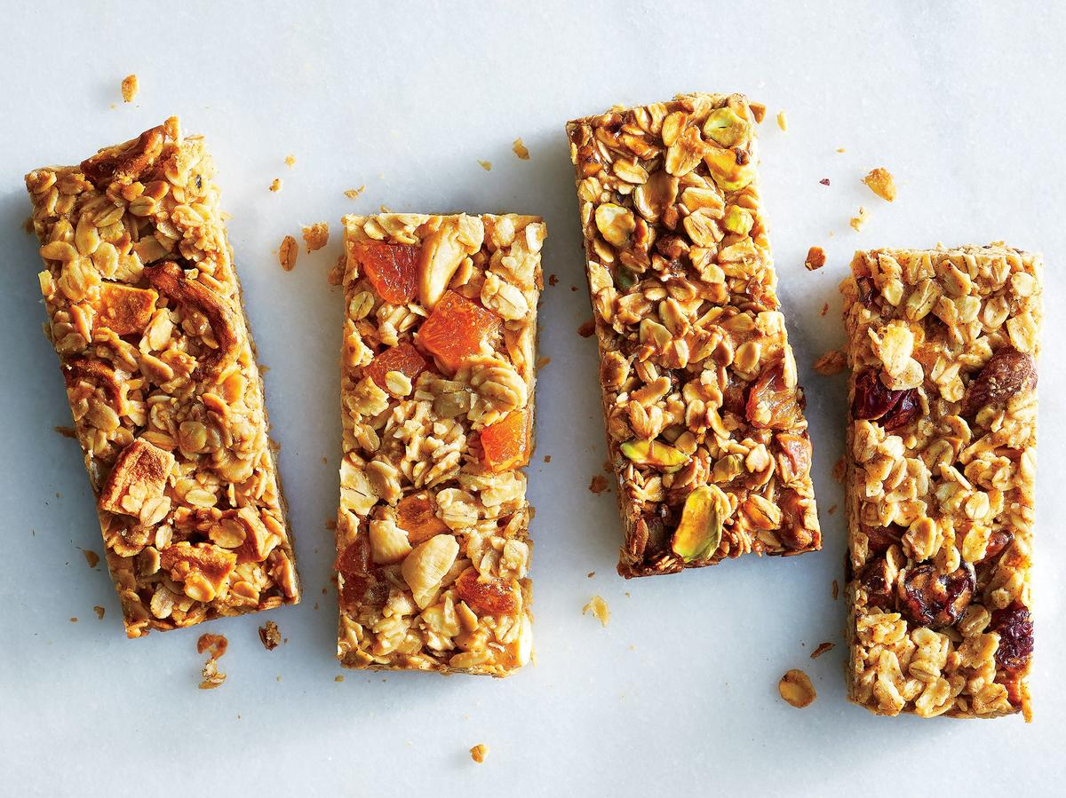 Four Snack Bars