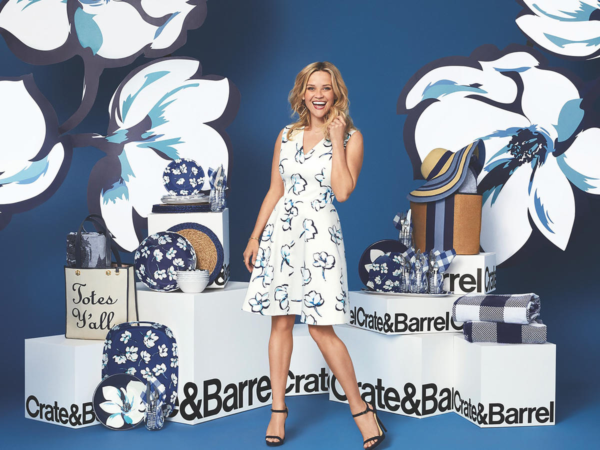 Reese Witherspoon's New Crate & Barrel Collection Will Have You Using the 'Pretty Dishes' Year Round