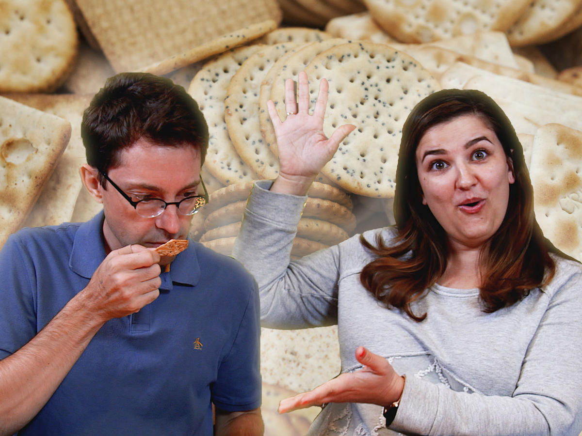 Taste Test: Chris and Jaime Tried Gluten-Free Crackers