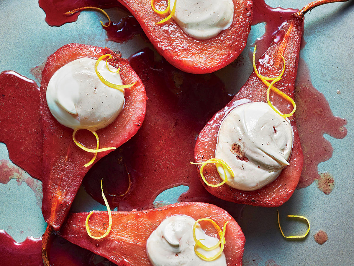 Clone of 1811 - Pomegranate-Poached Pears
