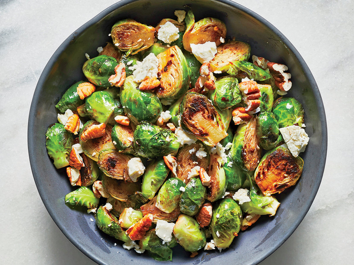 6 Brussels Sprouts Recipes That Taste Unhealthy, but Aren't