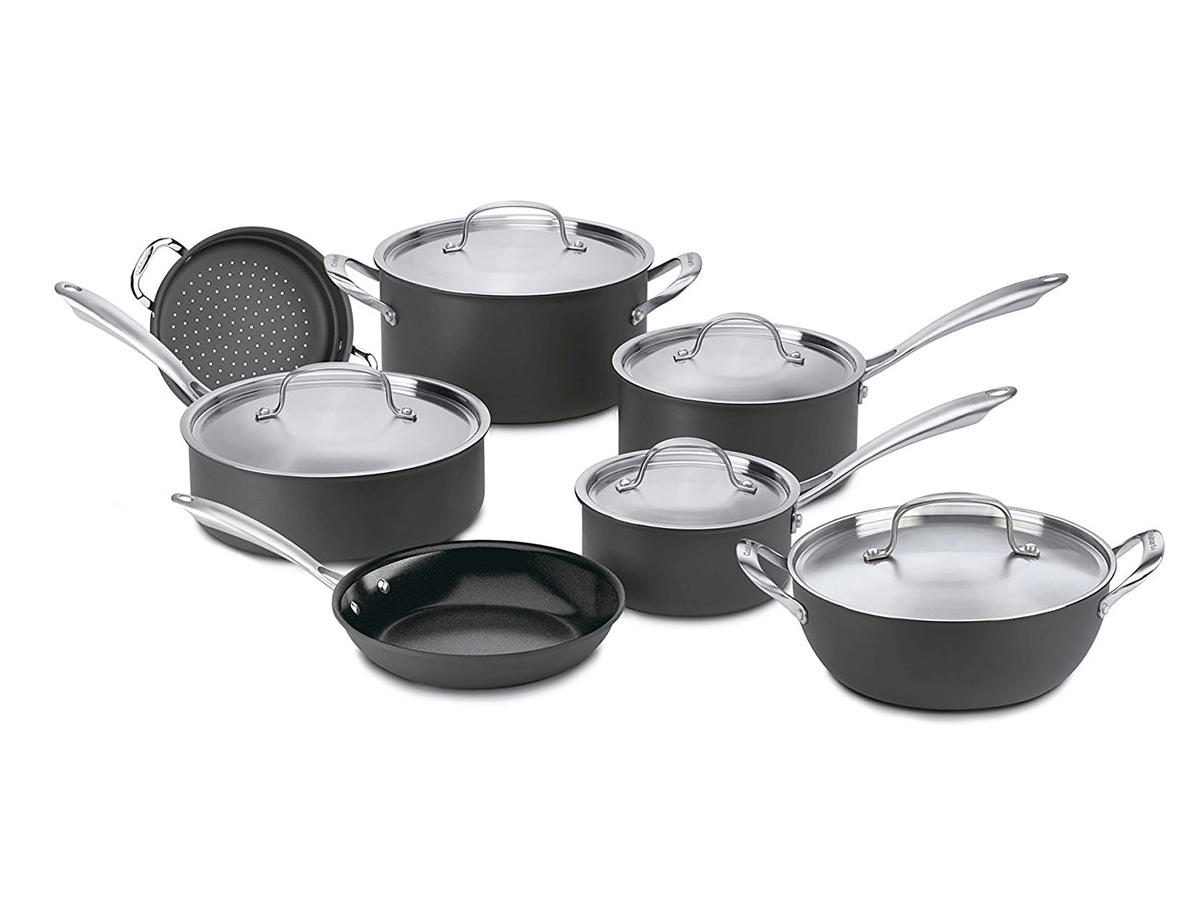 these are the best cookware sets of 2018 according to experts cooking light. Black Bedroom Furniture Sets. Home Design Ideas