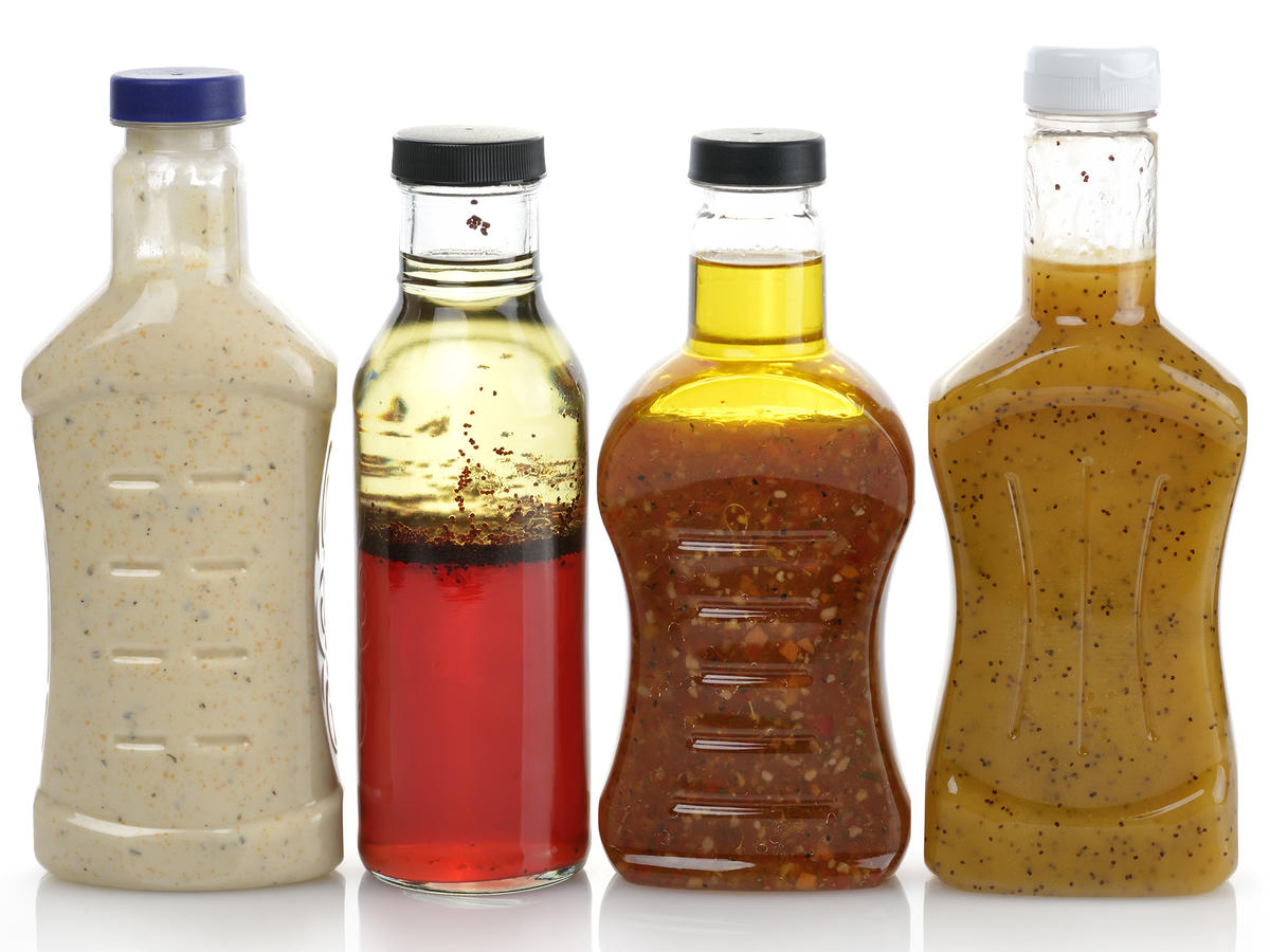 Bottled Salad Dressing EVERGREEN